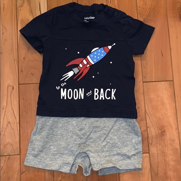 GAP Other - EUC To the Moon and Back Onesie